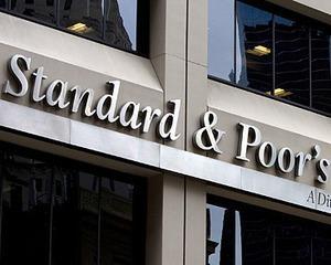 S&P are perspectiva negativa pentru 15 banci europene