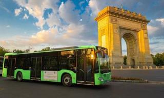 Primul lot de autobuze hibrid Mercedes Citaro a intrat pe traseu in Bucuresti