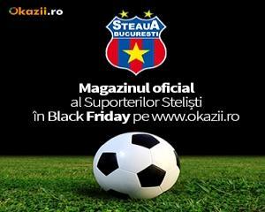 Magazinul Oficial FC Steaua Bucuresti, de Black Friday  pe Okazii.ro
