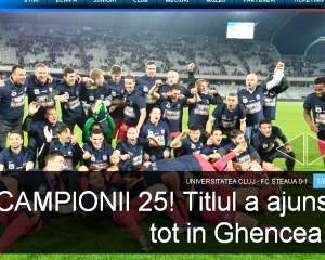 Steaua, campioana Romaniei cu trei etape inainte de final