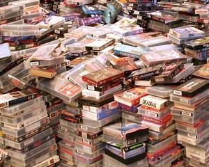 Arhiva uriasa de stiri TV in casa unei femei din Philadelphia