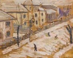 "Opera lui Theodor Pallady, ""Strada Iarna"", este scoasa la licitatie"