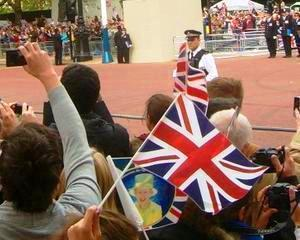 Studentii romani si bulgari au protestat in Marea Britanie din cauza ca sunt persecutati