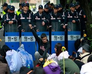 Proteste in Taiwan impotriva acordului comercial semnat cu China