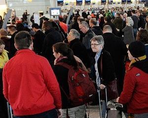 Costul intarzierilor zborurilor din cauza timpului nefavorabil: 2,5 miliarde de dolari