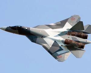Lupta pentru suprematia aeriana: Rusia demareaza testele pentru noua generatie de avioane de lupta
