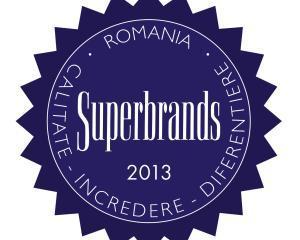 Gerovital a obtinut titlul de SUPERBRAND 2013