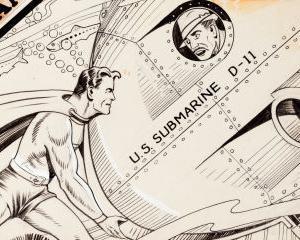 Cea mai veche coperta cu Superman, vanduta cu aproape 300.000 de dolari