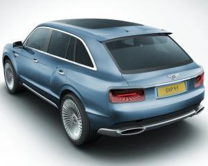 SUV-ul Bentley ar putea atinge viteza maxima de 322 km/h