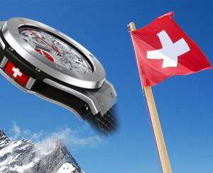 Exporturile de ceasuri elvetiene bat ora scaderii