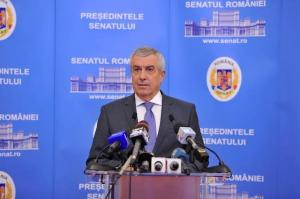 Tariceanu: Motiunea va fi votata de peste 240 de parlamentari. Un premier tehnocrat nu e o solutie