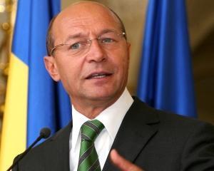 Presedintele Basescu a multumit Frantei pentru sprijinul privind noul acord de asistenta cu UE si FMI