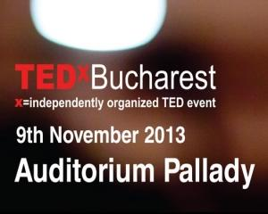 Speakeri inspirationali si smart networking la cea de-a 5-a editie din Romania: TEDxBucharest - Make it Happen