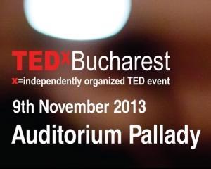 Speakeri inspirationali si smart networking la cea de-a 5-a editie din Romania: TEDxBucharest - Make it Happen