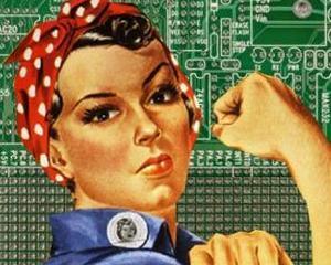 Premiera in SUA: In 2013, au fost angajate mai multe femei decat barbati in industria tehnologica