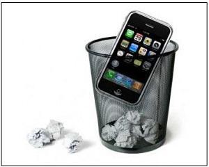 Americanii arunca la gunoi 140 de milioane de telefoane mobile pe an