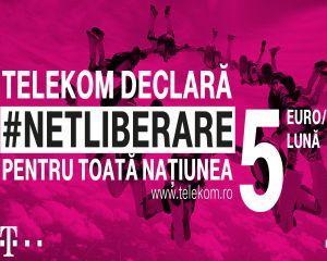 Telekom Romania lanseaza campania Netliberare