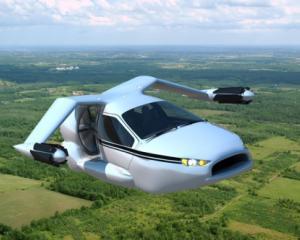 TF-X, prima masina si hibrid si zburatoare