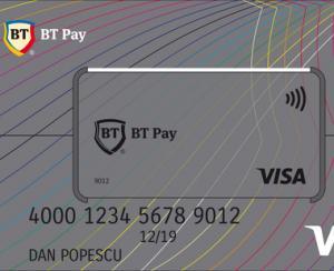 BT a lansat un sticker de plata