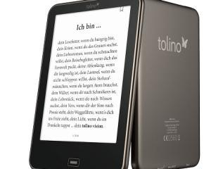 eReader-ul Tolino Vision doreste sa concureze cu Kindle