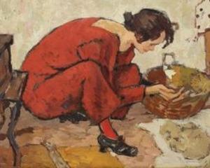 Record de pret pentru un Tonitza din perioada rosie