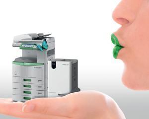 Imprimanta care iti sterge de toner foaia folosita si o reprinteaza