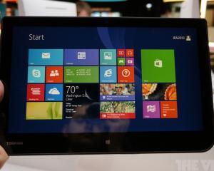 Toshiba se declara foarte multumita de Windows 8.1 si lanseaza doua noi tablete