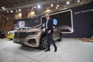SIAB 2018: Volkswagen prezinta noul Touareg