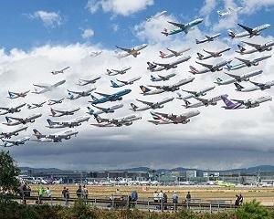 Traficul aerian a crescut, numarul accidentelor aviatice s-a redus