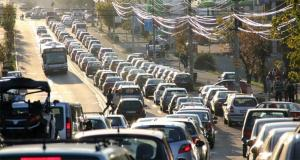 Bucurestiul, in top 3 orase europene cu trafic sufocant