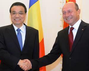 Traian Basescu: Cred ca relatia dintre China si Romania se va desfasura in cadrul legislativ al Uniunii Europene