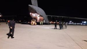 Al treilea transport aerian cu echipamente medicale din Coreea de Sud a ajuns in Romania