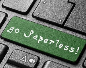 Uniunea Europeana incurajeaza renuntarea la documentele tiparite, in favoarea unui mod de lucru paperless