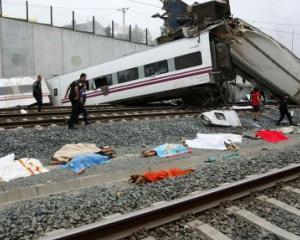 Conducatorul trenului spaniol, acuzat pentru 79 de ucideri din neglijenta