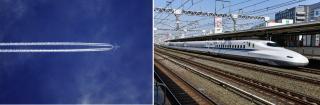 Ce mijloc de transport este mai rapid: trenul sau avionul?