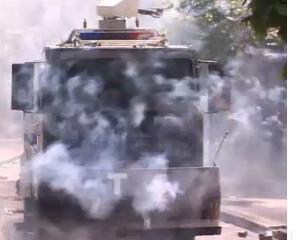 De Ziua Muncii, protestatarii turci au fost calmati cu gaze lacrimogene si tunuri cu apa
