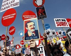 Turcia a adoptat noua lege cu privire la controlul Internetului