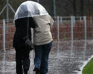 Cod Galben de ploi și ninsori in 12 judete, incepand din noaptea de joi spre vineri, ora 3,00