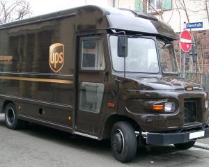 Livrarile de colete din SUA catre lume au crescut afacerile UPS