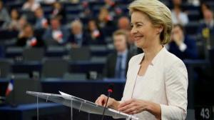 Ursula von der Leyen, votata la limita presedinte al Comisiei Europene