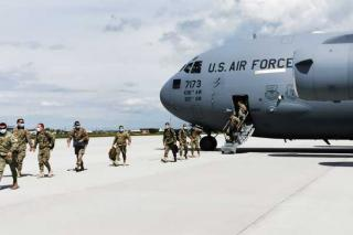 Militarii romani din Afganistan se intorc acasa