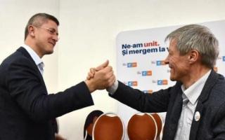 Barna si Ciolos si-au propus sa castige alegerile prezidentiale in 2024