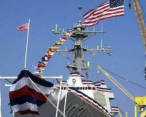 Nava militara americana, exercitii suplimentare in Marea Neagra