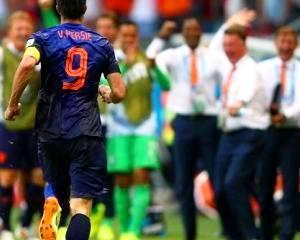Brazilia 2014: Olanda a surclasat campioana mondiala Spania cu 5-1