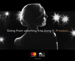 Mastercard devine sponsorul oficial al celei de-a 74-a editii a Festivalului de Film de la Venetia