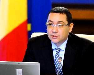 Victor Ponta: Cresterea economica din 2013 este meritul tuturor celor care au muncit