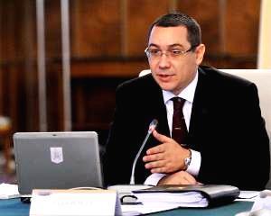 Victor Ponta: La biroul de la MapN ma voi intalni cu personalitatile publice straine