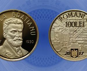 BNR i-a dedicat o emisiune numismatica lui Vintila I.C. Bratianu