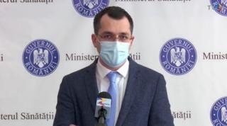 Ministerul Sanatatii ii cere lui Vlad Voiculescu sa inceteze diseminarea informatiilor false in spatiul public
