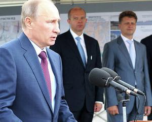 Putin doreste sa investeasca mai mult in drumuri si cai ferate